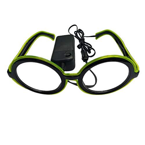ddb88cd4a8 ZARLLE-Gafas Gafas Luminosas Aviador Sol Luminosas LED, Gafas de Sol  Brillantes, Gafas