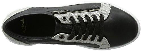 La Strada Damen 030024 Sneakers Schwarz (Black)