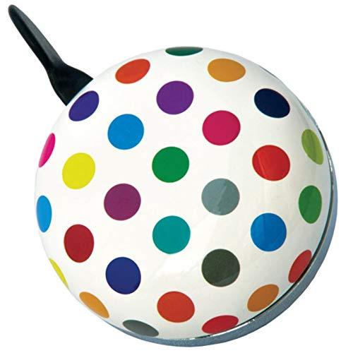 Ding Dong Polka Dots Mix extra große Fahrradklingel von Klingeling