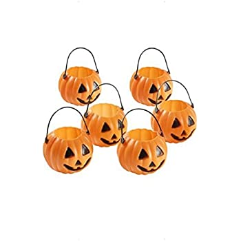 Mini zucche lanterne - TOOGOO(R) Mini lanterna zucca di Halloween ... 7076eaf79f08