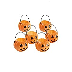 Idea Regalo - Mini zucche lanterne - TOOGOO(R) Mini lanterna zucca di Halloween