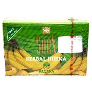 Price comparison product image 1 Pack 50 gr SOEX Banana - 100% Herbal Hookah Shisha Molasses for Hooka Nargila Sheesha