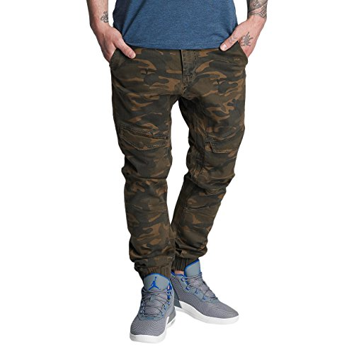 Dangerous DNGRS Noray Herren Slim Fit Jeans Camouflage Camouflage