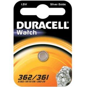 Duracell 936861 silver-oxide 1.5 V non-rechargeable battery – non-rechargeable Batteries (silver-oxide, Button/coin, 1,5 V, SR58, plaquette thermoformée)