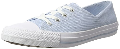 Converse All Star Coral, chaussons d'intérieur mixte adulte Mehrfarbig (Porpoise/White/White)