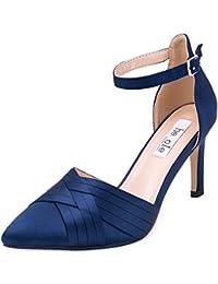 Suchergebnis Auf Amazon De Fur Blau Satin Schuhe Schuhe
