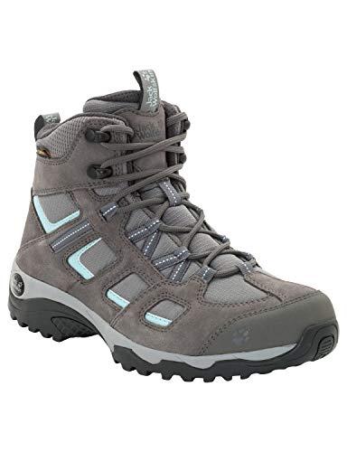 Jack Wolfskin Damen Vojo Hike 2 Texapore MID W Wasserdicht Trekking-& Wanderstiefel, Grau (Tarmac Grey 6011), 40 EU