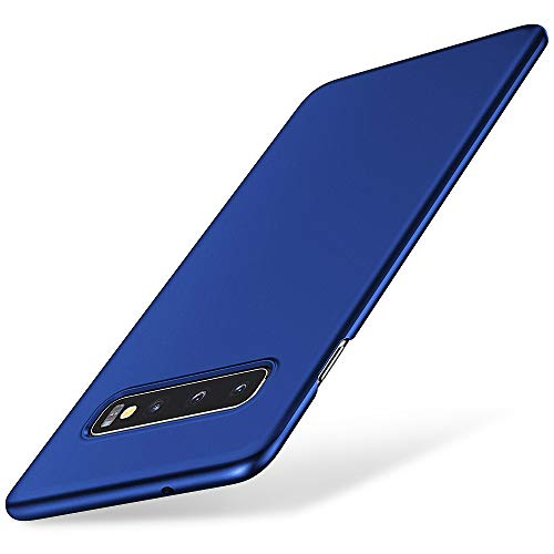 EIISSION Handyhülle Kompatibel mit Samsung Galaxy S10 Hülle, Hardcase Ultra Dünn Samsung Galaxy S10 Schutzhülle aus Hart-PC Case Cover Handyhülle für Samsung Galaxy S10 - Blau Samsung Blau Case