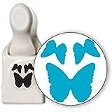"Martha Stewart Medium Punch-3-In-1 Butterfly, 1"""