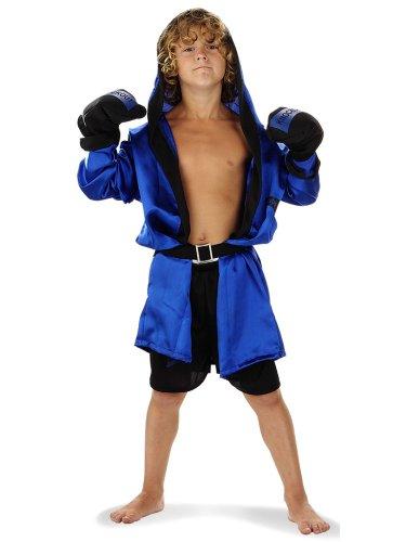 Folat 21884 -Boxer-Kostüm, Kinder Größe (Blue Rocky Kostüm)