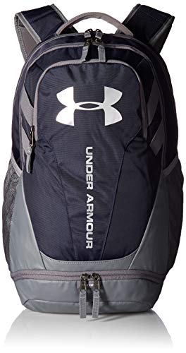 Under Armour UA Hustle 3.0, Zaino Unisex Adulto, Marrone (Desert Sand/Black/Black 290), Taglia Unica
