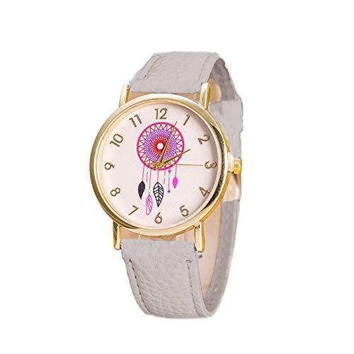TrifyCore Reloj de Atrapasueños Cinturón de Moda Blanco paramujeres 1 Paquete