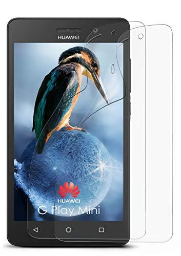 2X Huawei G Play Mini | Schutzfolie Matt Bildschirm Schutz [Anti-Reflex] Screen Protector Fingerprint Handy-Folie Matte Bildschirmschutz-Folie für Huawei G Play Mini/Honor 4c Bildschirmfolie