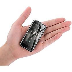 """Mini Reste-Pocket 4G Smartphone Débloqué 2,45""""WiFi Android 7.0 Écran Capacitif Munti-Touch pour Étudiants et Enfants (Noir)"""