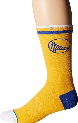 Stance Golden State Warriors Arena Logo NBA Socken Gelb L (Retro 5 Jordan Gelb Air)