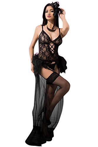 VIP Fantasy Erotica Sexy Bride Lingerie Costume Set