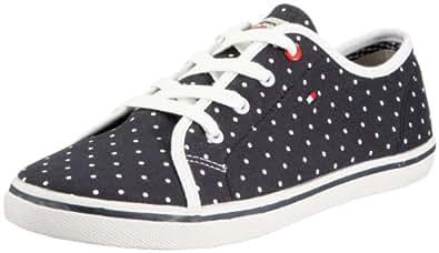 Tommy Hilfiger SAMMY 4A FU56813744, Unisex - Kinder Sneaker, Blau (POLKADOTS 075), EU 29