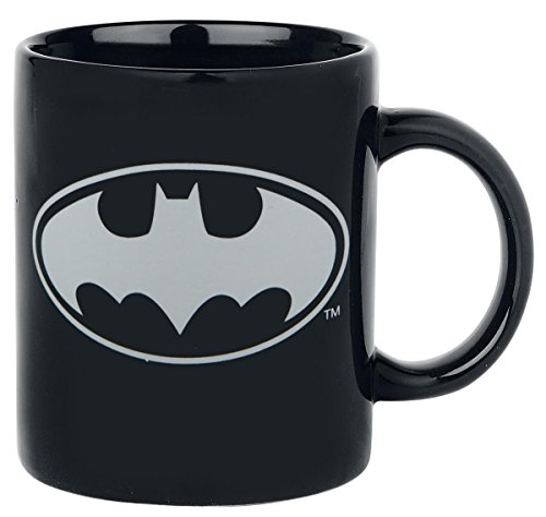 Batman-Logo-Glow-In-The-Dark-Tasse-schwarz