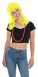Folat 64562 - Disfraz para mujer, color amarillo