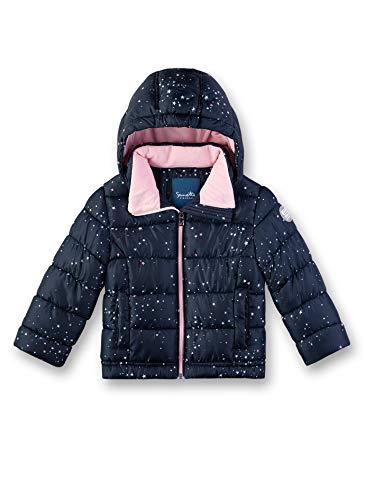 Sanetta Mädchen Outdoorjacket Fake Down Jacke, Blau (Nordic Blue 5962), (Herstellergröße: 128)