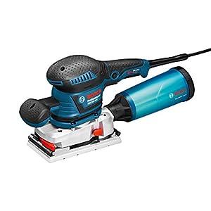 Bosch Professional GSS 230 AVE – Lijadora orbital (300 W, vibration control, plato lijador 182 x 92 mm, microfiltro, en L-BOXX)