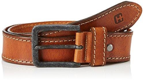 hattric Herren Gürtel 602700 Braun (Light Brown 21), Medium
