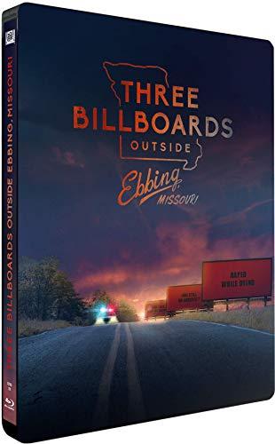 3 billboards - les panneaux de la vengeance [steelbook] [Blu-ray]