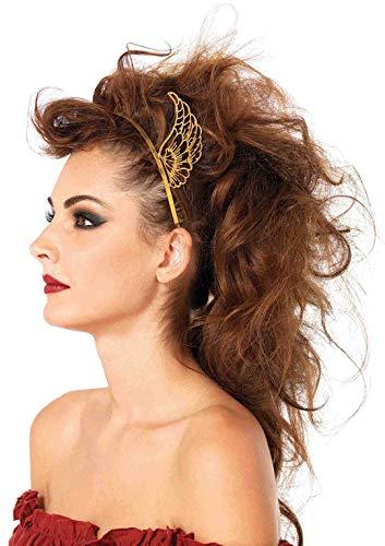 Pegasus Flügel Kostüm - Leg Avenue A2721 - Pegasus Haarreif mit Flügeln, Einheitsgröße, Gold