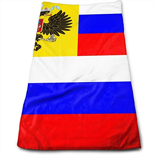Nifdhkw Russian Flag Microfiber Lightweight Soft Fast Drying for Gym Beach Travel Fitness Exercise Yoga -