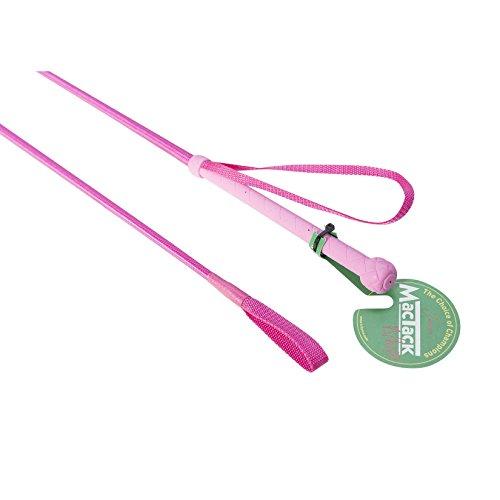 MacTack Kinder 60cm Reitgerte (60 cm) (Neon Pink)