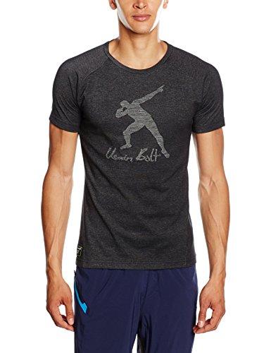 PUMA Herren T-shirt UB Evostripe Tee, Cotton Black-high rise, XXL, 838990 01 (Jacquard-polo-tee)