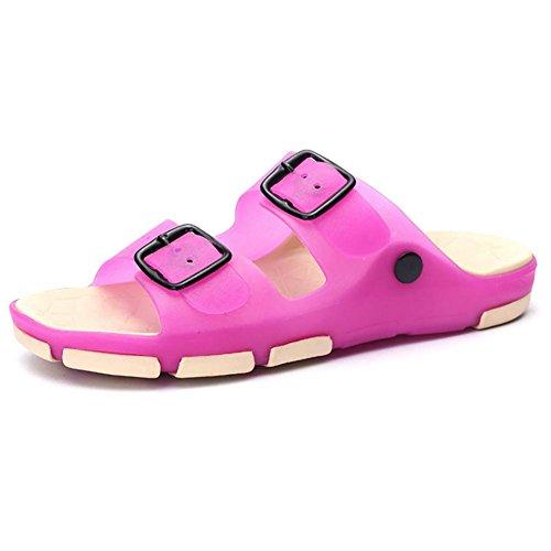 shangxian-femmes-et-enfants-chaussons-tongs-ete-latex-occasionnels-plat-talon-dautres-marchant-rose-
