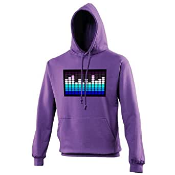 Purple Equalizer Men's Hoodie (Chiller) - XX Large - Chest 52in (132cm)