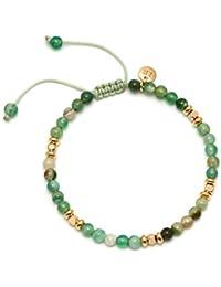 Lola Rose Women Green Coral Strand Bracelet of Length 15cm 703406