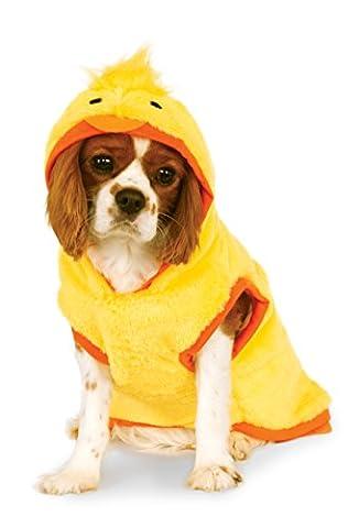 Rubies Costume Company Ducky Hoodie für Pet (Rubber Ducky Halloween-kostüm)