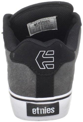 Etnies Fader Vulc, Chaussures de Skateboard Homme Noir - Schwarz (570 , Black/Grey)