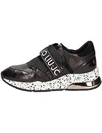 Liu Jo Chaussures Femme Baskets Basses B68001 PX001 Karlie 03 Sneaker Noir d0adf8185de3