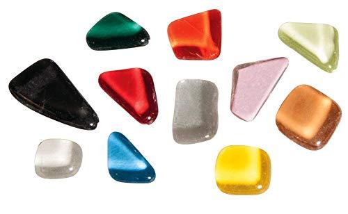 Rayher 14796999 Soft en verre mosaà¯que Mélange multicolore 13 5 x 13 5 x 6 5 cm