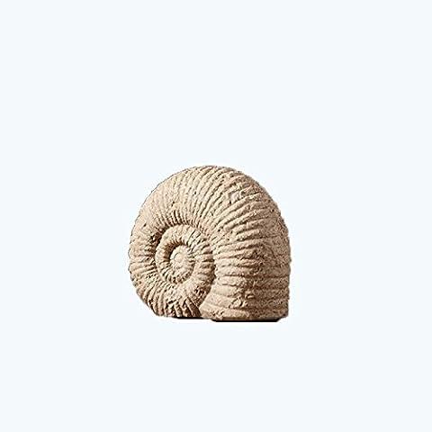 LQK-Country américain salon créatif bureau étude chambre conque moulage résine artisanat ornements , 20.8*10.8*18.2 s