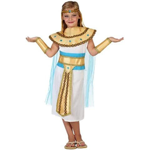 Atosa - Disfraz de egipcia para niña, talla 3 - 4 años (23308)