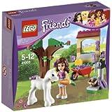 LEGO Friends - 41003 - Jeu de Construction - Olivia et son Bébé Poulain