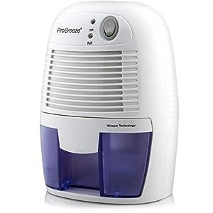 Pro Breeze Deumidificatore D'Aria Mini Compatto, Silenzioso e Portatile, 500ml, per Muffa e Umidità, ideale per Casa… 41U0VfzrAhL. SS300