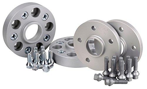 Preisvergleich Produktbild Hofmann Spurverbreiterung Aluminium 4 Stück (18/30 mm pro Scheibe/36/60 mm pro Achse) inkl. TÜV-Teilegutachten
