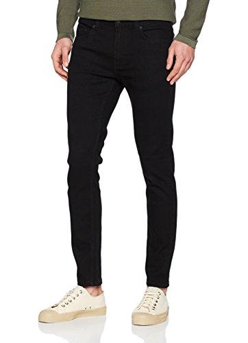 ONLY & SONS Herren Slim Jeans Onswarp P PK 8822 Noos, Schwarz (Black Denim), W29/L32 (Herstellergröße: 29) (Graue Hose)