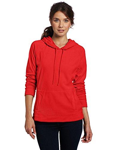 Columbia Damen Fleece Glacial III Hoodie, Red Hibiscus, M, AL6439 Hibiscus Fleece Pullover Hoodie