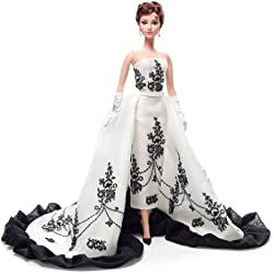 Barbie Audrey Hepburn en Sabrina, muñeca fashion (Mattel X8277)