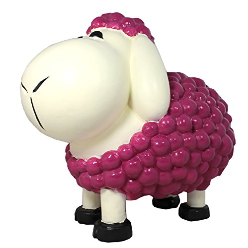 Figurine de mouton schnauzi mûre décoration multicolores et pas seulement pour le jardin