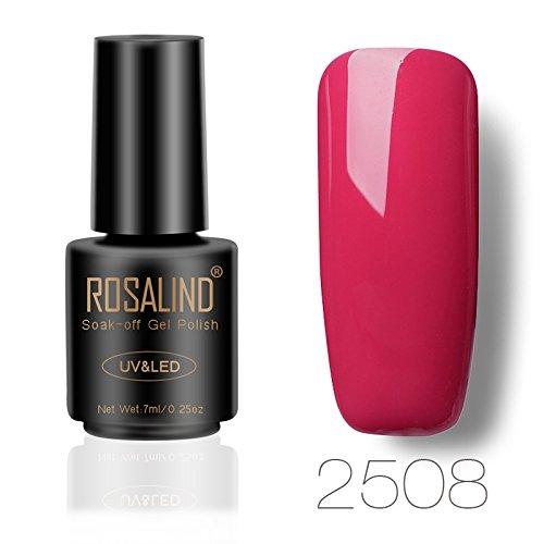 ROSALIND Esmalte de uñas de gel UV/LED