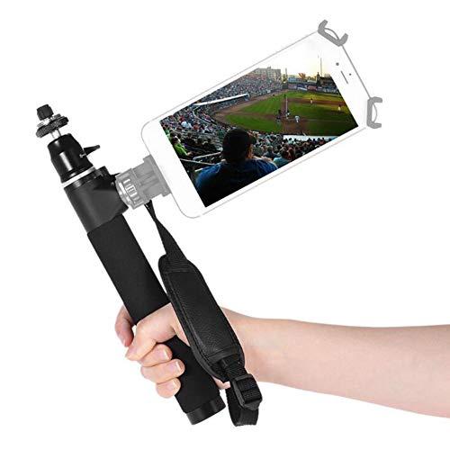 Hong sheng nuovo smart phone mini selfie stick - supporto di più interfacce, può essere ruotato, estensione extension rod camera palmare self-timer motion camera, supporto per bluetooth