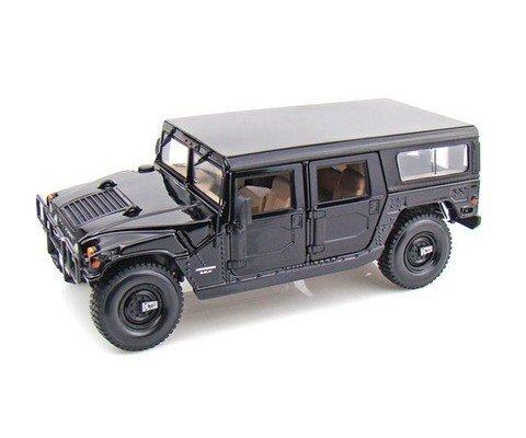 hummer-station-wagon-schwarz-modellauto-fertigmodell-maisto-118